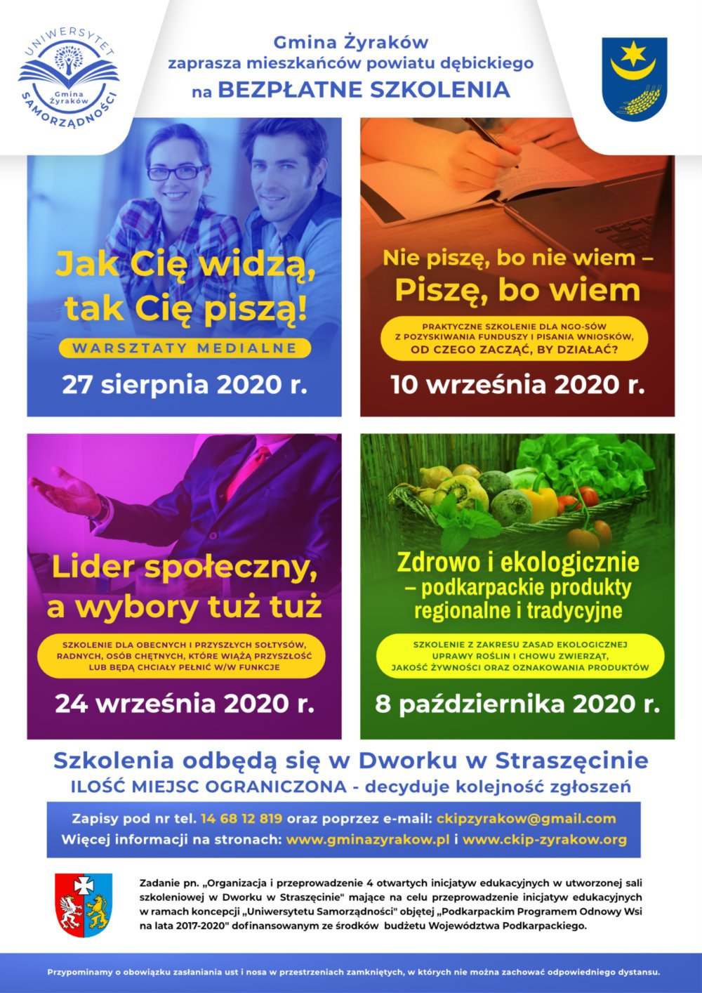 Plakat Uniwersytet Samorządności
