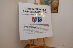 Uniwersytet Samorządności - Spotkanie w Dworku w Straszecinie