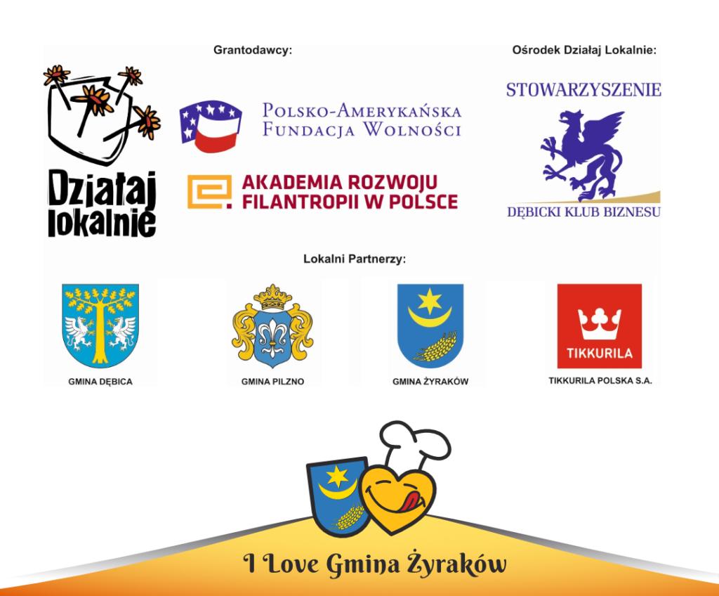 I Love Gmina Żyraków - Logotypy