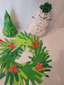 Praca zgłoszona na Gminny Konkurs na Stroiki Bożonarodzeniowe - Żyraków 2021