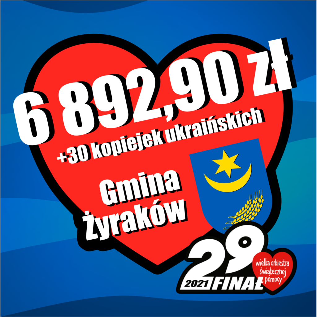 Gmina Żyraków zawsze pomaga!!!