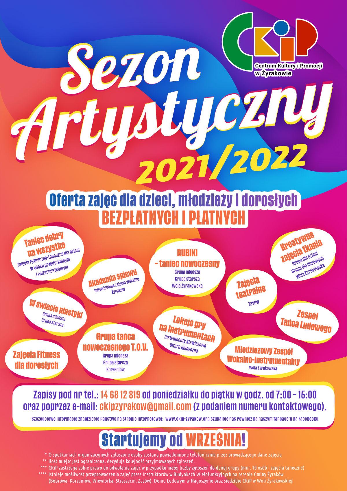 Sezon artystyczny 2021-2022